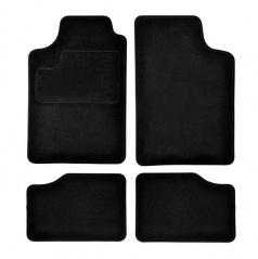 Autokoberce textilní černé pro celé auto I