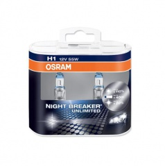 Žárovka Osram Night Breaker Unlimited H1 12V/55W (sada 2 ks)