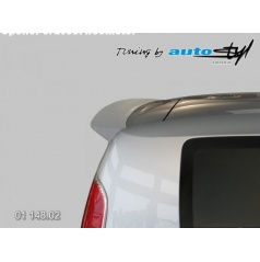 Škoda Roomster - spoiler 5. dveří Roomster - hladký pro lak