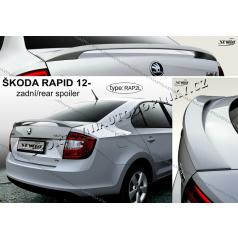 Škoda Rapid 2012- zadní spoiler (EU homologace)