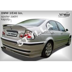 BMW 3/E46 SEDAN 98+ zadní křídlo (EU homologace)
