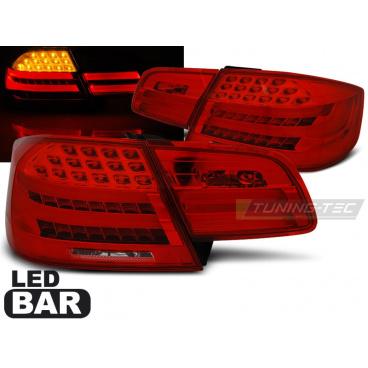 BMW E92 09.2006-03.2010 zadní lampy LED BAR red white (LDBME4)