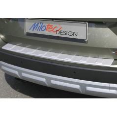Práh pátých dveří s výstupky, stříbrný matný - Škoda Yeti Outdoor Facelift od r.v. 2013