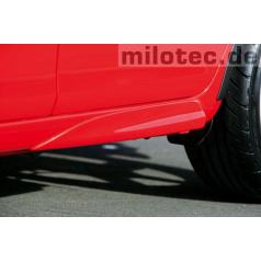 Zadní rozšíření prahů, ABS-černý, Škoda Fabia II