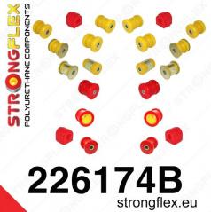 VW Scirocco StrongFlex kompletní sestava silentbloků 22 ks