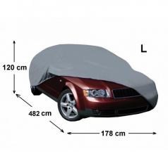 Plachta na auto III - velikost L 471 x 173 x 116 cm