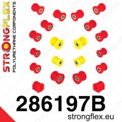 Infinity G35 2003-07 StrongFlex sestava silentbloků jen pro zadní nápravu 20 ks