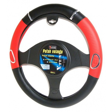 Potah volantu Rally červený, modrý, šedý, béžový