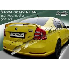 ŠKODA OCTAVIA II htb 04+ spoiler zad. kapoty RS II (EU homologace)