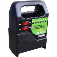 Nabíječka autobaterií-6-12V 8A-led indikace-přenosná