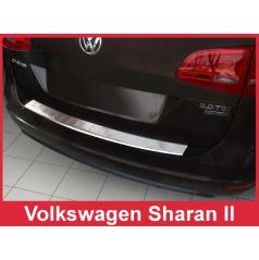 Nerez kryt- ochrana prahu zadního nárazníku Volkswagen Sharan II 2010+