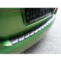 Práh pátých dveří s výstupky, 3D Carbonstyl - Škoda Fabia II. Limousine / RS Limousine 2007-2014