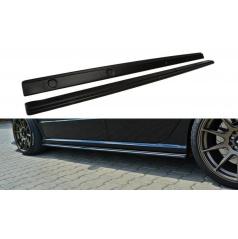 Difuzory pod boční prahy pro Škoda Fabia RS Mk1, Maxton Design (černý lesklý plast ABS)