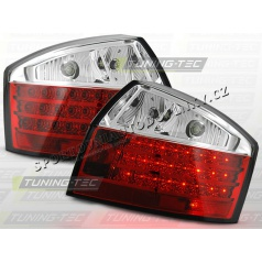 AUDI A4 (B6) 2000-04 ZADNÍ LED LAMPY RED WHITE (LDAU27)