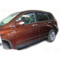 Honda CRV FL, 2009-2011, boční ochranné lišty dveří