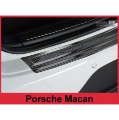 Carbon kryt- ochrana prahu zadního nárazníku Porsche Macan 2014+