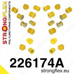 Audi A3 2003-13 StrongFlex Sport kompletní sestava silentbloků 22 ks