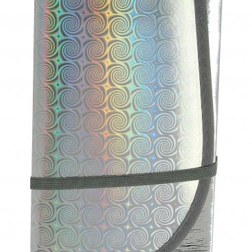 Protisluněční clona reflexní 3-vrstvá L 145x70 cm pod přední sklo