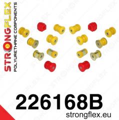 Audi A3 2003-13 StrongFlex sestava silentbloků jen pro zadní nápravu 16 ks