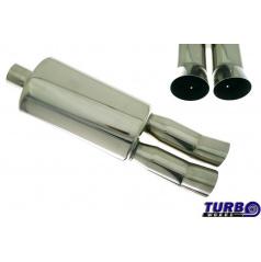 Sportovní výfuk TurboWorks dual (63 mm vstup)