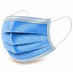 Respirační rouška s 3-vrstvým ochranným filtrem (barva modrá nebo bílá)