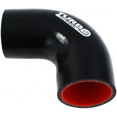 D1 SPEC silikonové koleno 45°a 90° černé