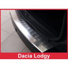 Nerez kryt- ochrana prahu zadního nárazníku Dacia Lodgy 2012-18