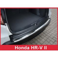 Nerez kryt- ochrana prahu zadního nárazníku Honda HR-V II 2015+