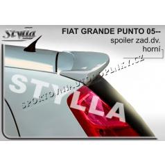 FIAT GRANDE PUNTO 05+ spoiler zad. dveří horní