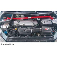 Ocelová červeně lakovaná rozpěrná tyč Wiechers pro Škoda Octavia (od r.v. 2004)