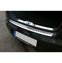 Škoda Superb II Limousine - NEREZ chrom ochranný práh zadního nárazníku KI-R