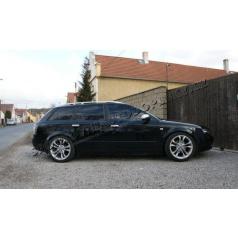 Audi A4 8E 01-08 - NEREZ chrom kryty klik OMSA LINE