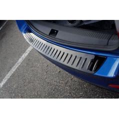 Ochranný panel zadného nárazníka Glossy Black Škoda Octavia III Combi