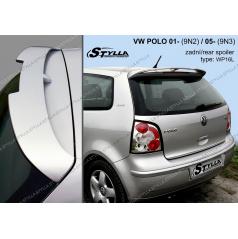 VW Polo 9N3 3D/5D 2005+ zadní spoiler (EU homologace)