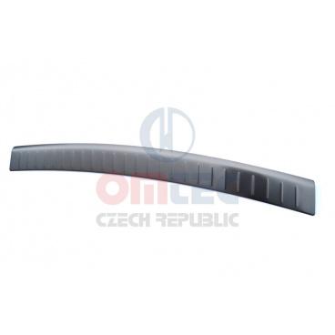 Mitsubishi Outlander III 2012-15 nerez ochranný panel zadního nárazníku Omtec - RS6 Brushed