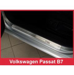 Nerez ochranné lišty prahu dveří 4ks Speciální edice Volkswagen Passat B7 2011-14
