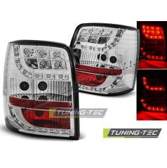 VW PASSAT 3BG 2000-04 VARIANT ZADNÍ LED LAMPY CHROME (LDVW81)