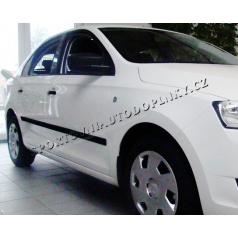 Boční ochranné lišty dveří, Škoda Rapid 2012-