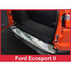 Nerez kryt- ochrana prahu zadního nárazníku Ford Ecosport II 2012+