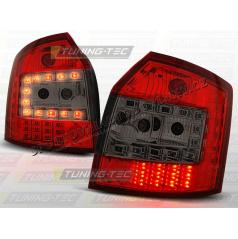 AUDI A4 (B6) AVANT 2000-04 ZADNÍ LED LAMPY RED SMOKE (LDAU35)