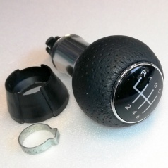Hlavice řadící páky Škoda , VW, Seat, Audi  6 rychl. S-LINE  black