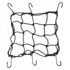 Pružná upevňovací síť s háčky 30x30cm