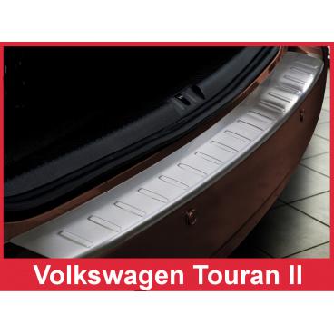 Nerez kryt- ochrana prahu zadního nárazníku Volkswagen Touran II 2010-15
