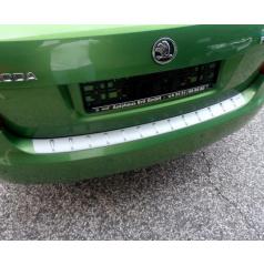 Práh pátých dveří s výstupky, stříbrný matný - Škoda Fabia II. Limousine / RS Limousine 2007-2014