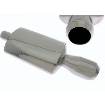 Sportovní výfuk TurboWorks kulatá koncovka II (63 mm vstup, koncovka 101 mm)