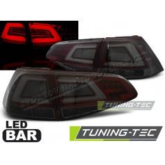 VW Golf 7 2013- zadní lampy smoke red LED BAR (LDVW07)