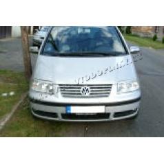 VW Sharan - nerez (NE plast !!!) chrom kryty zrcátek OMSA - skladem