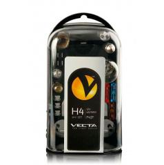 Box žiaroviek Uni 12V / H4 VECTA vr. poistiek