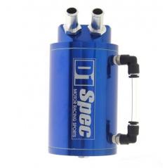 Alu nádoba na přebytečný olej D1 SPEC modrá vstup/výstup 9 mm