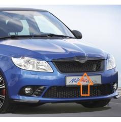 Maska Milotec s černou mřížkou Škoda Roomster / Fabia II